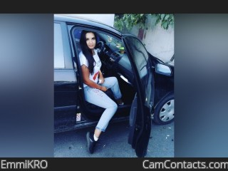 Webcam model EmmiKRO from CamContacts