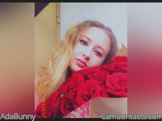 Webcam model AdaBunny from CamContacts