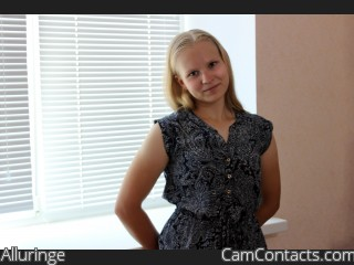 Webcam model Alluringe from CamContacts