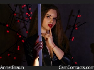 Webcam model AnnetBraun from CamContacts