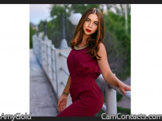 Webcam model AmyGold from CamContacts