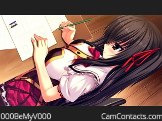 Webcam model 000BeMyV000 from CamContacts