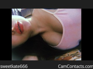 Webcam model sweetkate666 from CamContacts