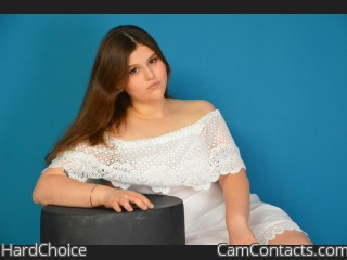 Webcam model HardChoice from CamContacts