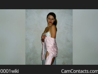 Webcam model 0001wiki from CamContacts