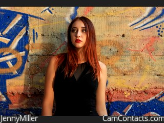 Webcam model JennyMiller from CamContacts