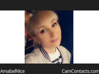 Webcam model AmabelNice from CamContacts