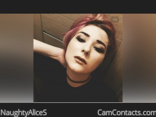 Webcam model NaughtyAliceS from CamContacts