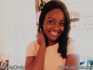 Webcam model BeautyCindy from CamContacts