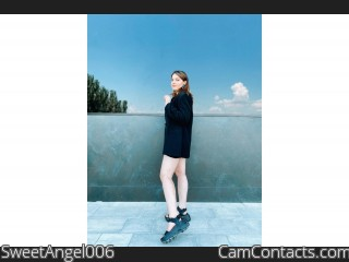 Webcam model SweetAngel006 from CamContacts