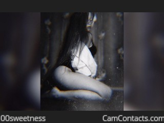 Webcam model 00sweetness from CamContacts