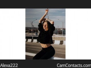 Webcam model Alexa222 from CamContacts