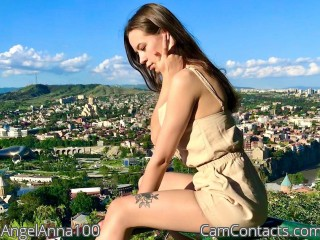 Webcam model AngelAnna100 from CamContacts
