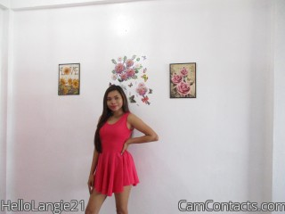 Webcam model HelloLangie21 from CamContacts