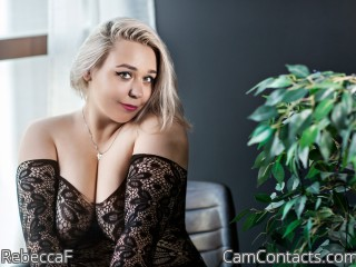 Webcam model RebeccaF from CamContacts