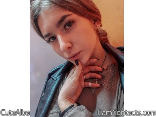 Webcam model CuteAlba from CamContacts