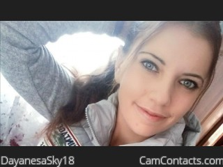 Webcam model DayanesaSky18 from CamContacts