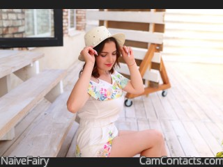 Webcam model NaiveFairy from CamContacts