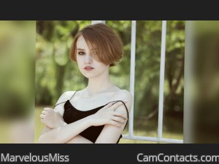 Webcam model MarvelousMiss from CamContacts