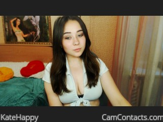 Webcam model KateHappy from CamContacts