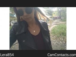 Webcam model Lera854 from CamContacts