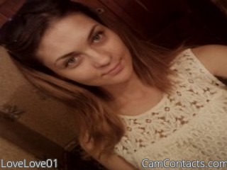 Webcam model LoveLove01 from CamContacts