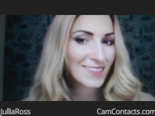 Webcam model JulliaRoss from CamContacts
