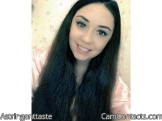 Webcam model Astringenttaste from CamContacts