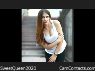 Webcam model SweetQueen2020 from CamContacts
