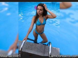 Webcam model MilanaLove1 from CamContacts