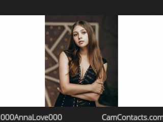 Webcam model 000AnnaLove000 from CamContacts