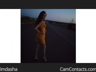 Webcam model imdasha from CamContacts