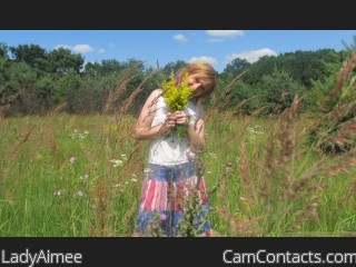 Webcam model LadyAimee from CamContacts