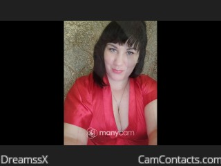 Webcam model DreamssX from CamContacts