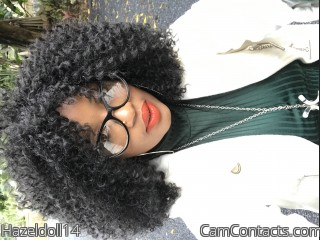 Webcam model Hazeldoll14 from CamContacts