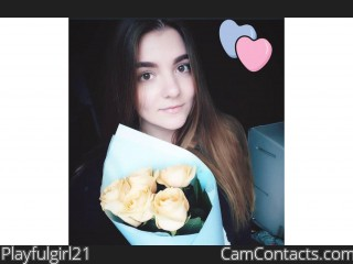 Webcam model Playfulgirl21 from CamContacts