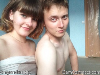 Webcam model AmyandRobby from CamContacts