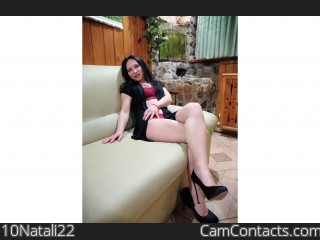 Webcam model 10Natali22 from CamContacts