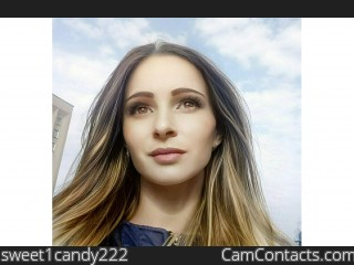 Webcam model sweet1candy222 from CamContacts