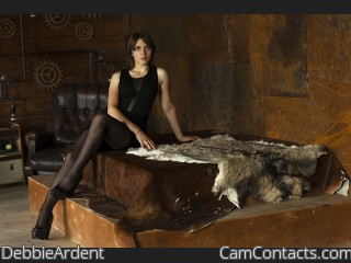 Webcam model DebbieArdent from CamContacts