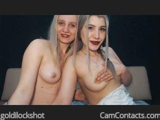 Webcam model goldilockshot from CamContacts
