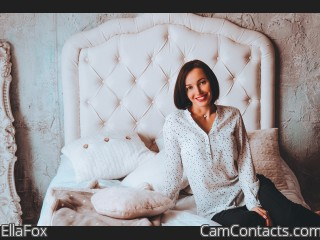 Webcam model EllaFox from CamContacts
