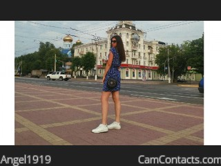 Webcam model Angel1919 from CamContacts
