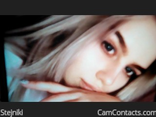 Webcam model Stejniki from CamContacts