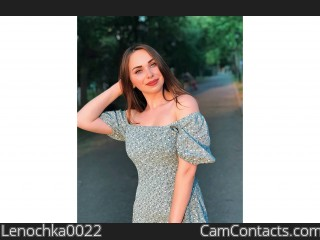 Webcam model Lenochka0022 from CamContacts