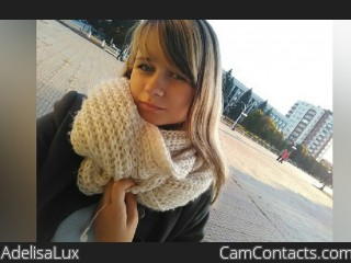 Webcam model AdelisaLux from CamContacts