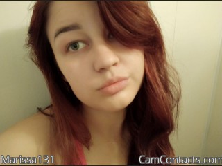 Webcam model Marissa131 from CamContacts