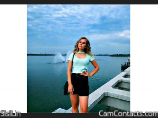 Webcam model SisiLin from CamContacts
