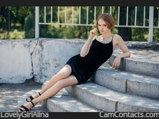 Webcam model LovelyGirlAlina from CamContacts