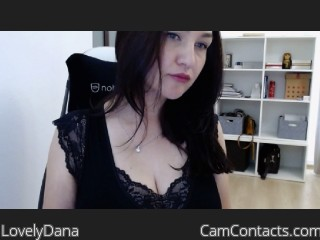 Webcam model LovelyDana from CamContacts